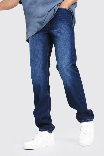 Indigo blue Tall Relaxed Fit Jean