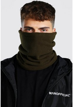 Khaki Fleece Snood