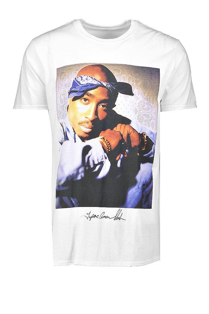 Oversize t shirt med Tupac motiv | boohoo SE