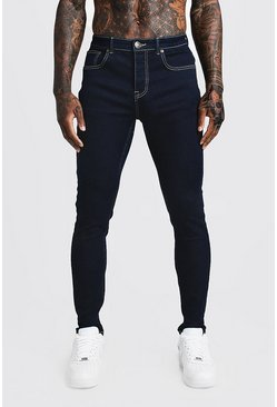 Indigo blue Skinny Fit Denim Jeans