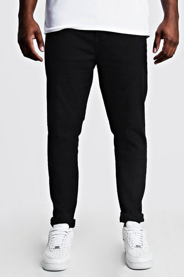 Black Plus Size Skinny Fit Jeans