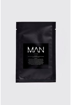 Clear MAN Peptide Sheet Face Mask