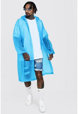 Blue Festival Eva Raincoat