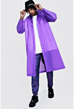 Purple Festival Eva Raincoat