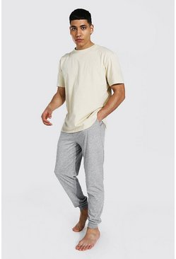 Multi Man Dash Jacquard Waistband Lounge Set