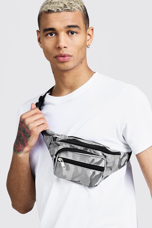 Men's Accessories Camo Nylon Bumbag