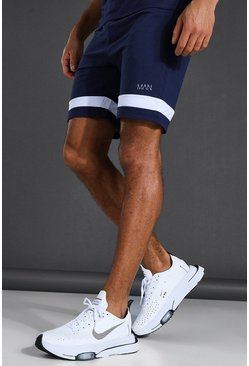 Short en jersey - MAN Active, Navy marine