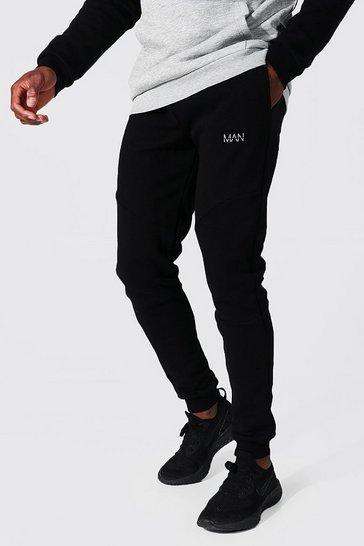 Black Man Active Pocket Detail Joggers