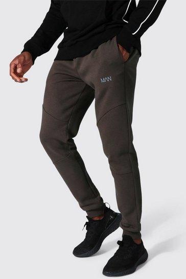 Khaki Man Active Pocket Detail Joggers