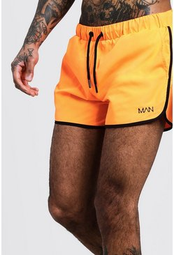 Neon-orange Original MAN Runner Swim Short