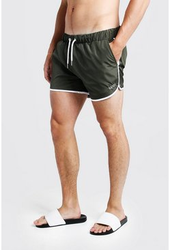 Khaki Original MAN Runner Swim Short