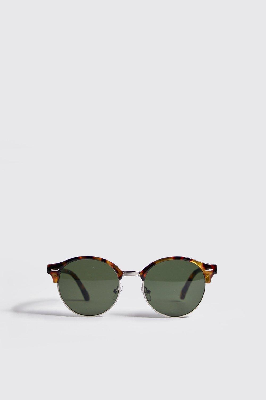 Men's Accessories Round Lens Retro Sunglasses