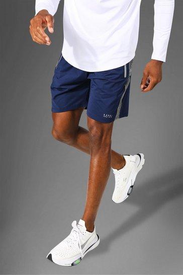 Navy Man Active Tonal Short