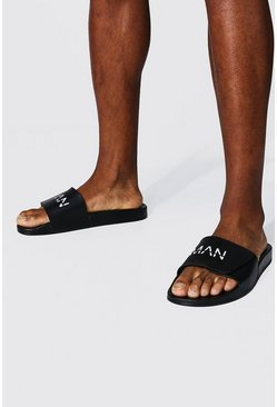 Black Man Dash Slippers