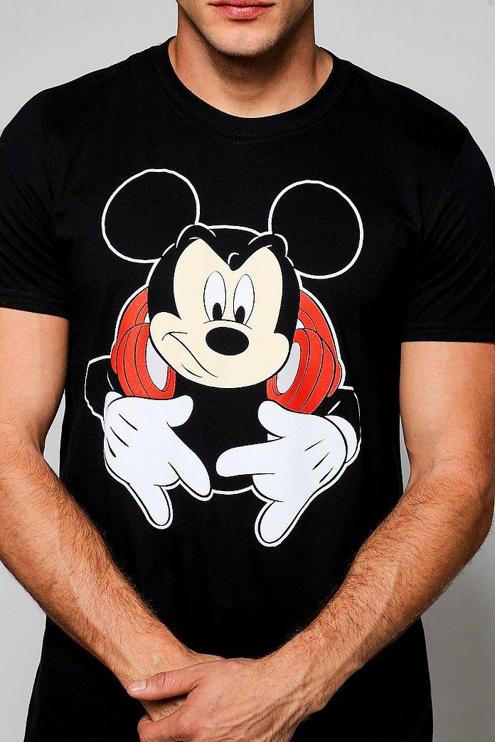 Disney DJ Mickey Mouse T Shirt | boohoo SE