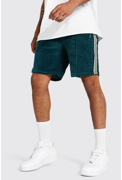 Teal Official Man Towelling Jersey Shorts