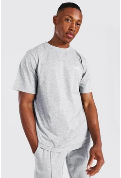 Grey Man Woven Tab Classic Fit Tee