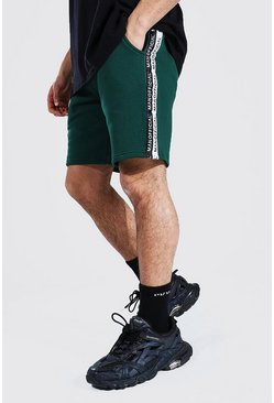 Green Man Official Tape Mid Length Regular Short