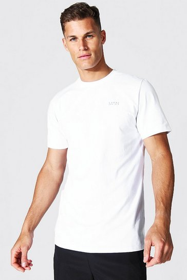 White Tall Man Active Luxe T-shirt