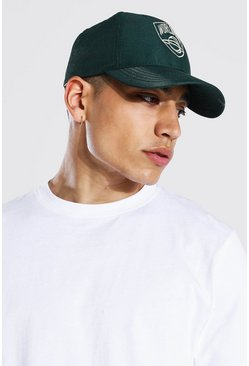 Green Worldwide Embroidered Cap