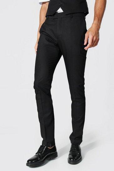 Black Tall Skinny Smart Trouser