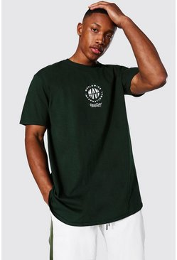 Forest Oversized Man Worldwide Overdye T-shirt