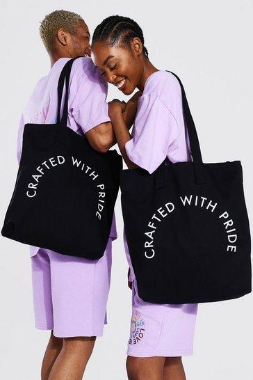 Black Pride Crafted Tote Bag