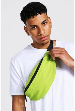 Lime green Sling Cross Body