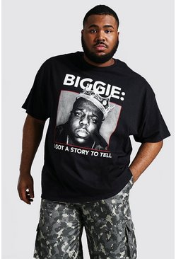 Black Plus Size Biggie I Got A Story License Tee