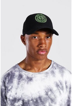 Lime Worldwide Embroidered Cap
