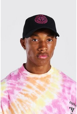 Pink Worldwide Embroidered Cap