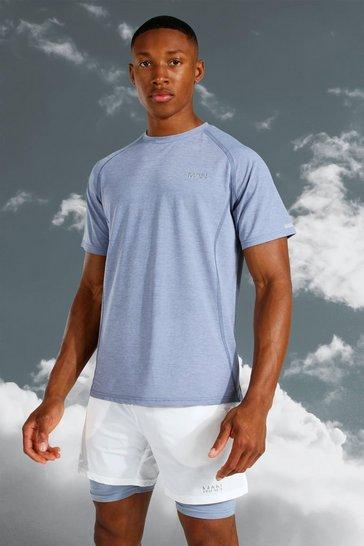 Grey Man Active Lightweight Marl T-shirt