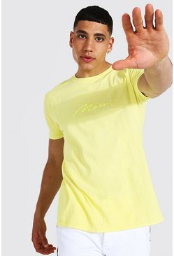 Yellow Man Signature Overdye T-shirt