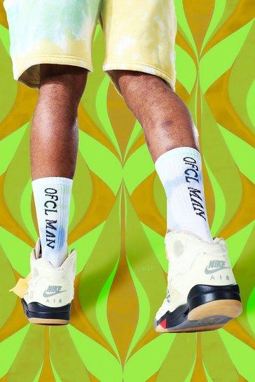 Multi 2 Pack Ofcl Man Trippy Funk Tie Dye Socks