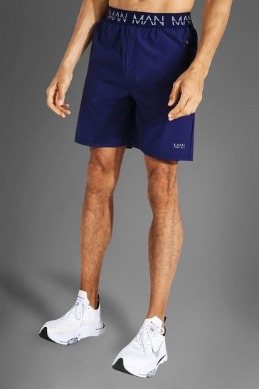Navy Tall Man Active 2-in-1 Short
