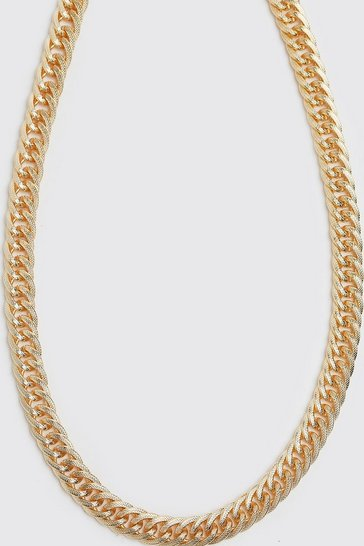 Gold metallic Chunky Chain Necklace