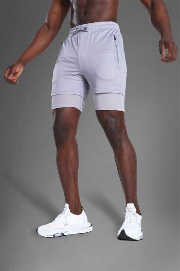 Grey Man Active Mesh 2-in-1 Short