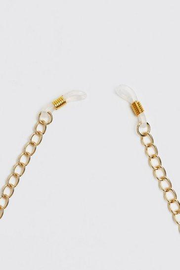 Gold metallic Chunky Sunglasses Chain