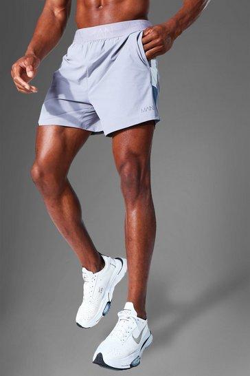 Grey Man Active Lightweight Side Panel Short