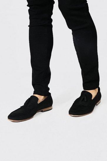 Black Tasselled Loafer