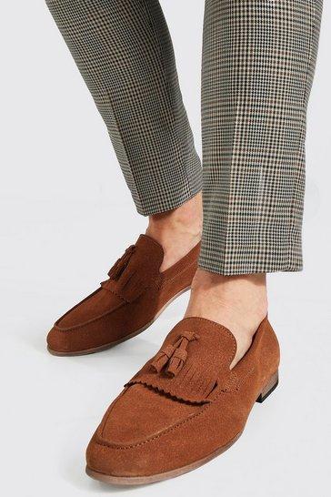 Tan brown Tasselled Loafer