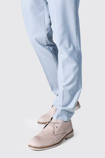 Mink beige Faux Suede Desert Shoe