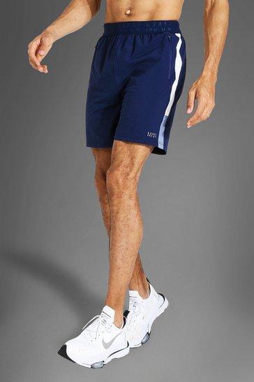 Navy Tall Man Active Lightweight Side Panel Short