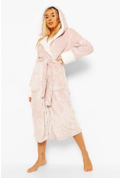 Blush Shimmer Fleece Gown