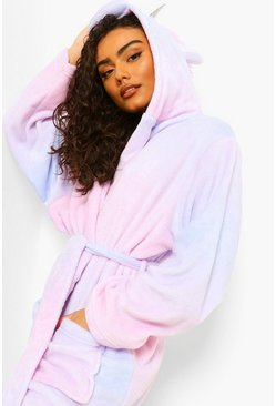 Multi Unicorn Dressing Gown