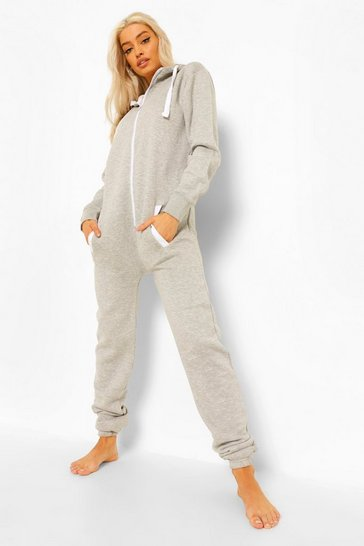 Grey Loopback Onesie