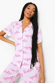 Pink Barbie Mix & Match Pyjama Shirt