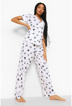 White Disney Minnie Mix & Match Pyjama Trousers