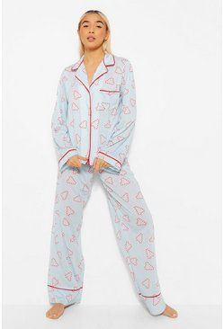 Blue Mix and Match Candy Cane PJ Trousers