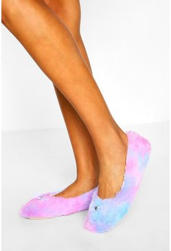 Blush pink Tie Dye Ballet Slipper